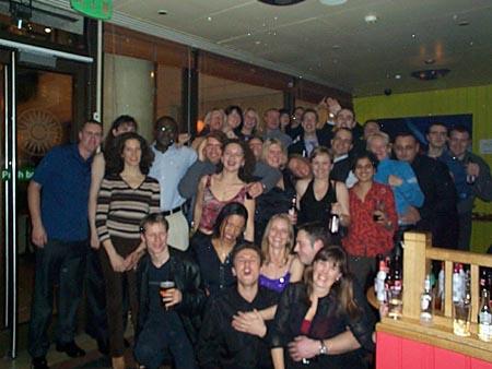 1985 leavers reunion 2001